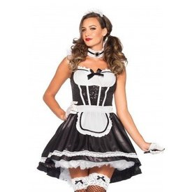 Leg Avenue COSTUME ADULTE FIONA FEATHERDUSTER