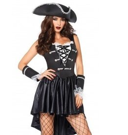 Leg Avenue *COSTUME CAPITAINE BARBE NOIRE