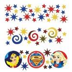 Amscan CONFETTIS SUPER-HEROINES DC