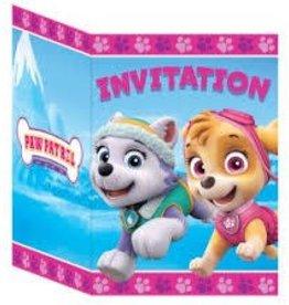 Unique INVITATIONS - PAT' PATROUILLE FILLE (8)