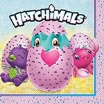 Unique SERVIETTES DE TABLE (16) - HATCHIMALS
