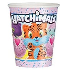 Unique VERRES 9OZ (8) - HATCHIMALS