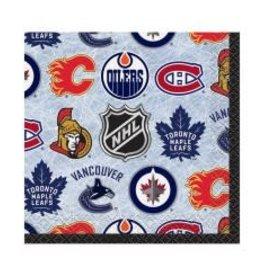 Unique SERVIETTES À COCKTAIL (16) - NHL