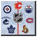 Unique SERVIETTES DE TABLE (16) - NHL