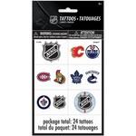 Unique TATOUAGES (4 FEUILLES/PQT) - NHL