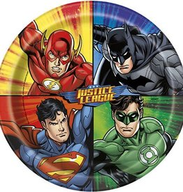 Unique ASSIETTES 9PO (8) - JUSTICE LEAGUE
