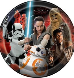 Unique ASSIETTES 9'' (8) - STAR WARS VIII