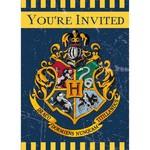 Unique INVITATIONS (8) - HARRY POTTER