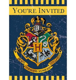 Unique INVITATIONS (8) - HARRY POTTER