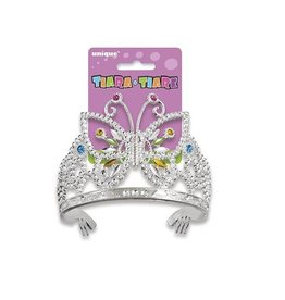 Unique BUTTERFLY GLAM TIARA