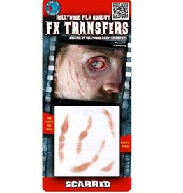 TINSLEY PROTHESE FX TRANSFERS -SCARRED