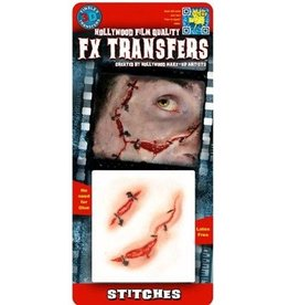 TINSLEY PROTHESE FX TRANSFERS -STITCHES