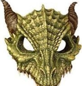 Forum Novelty DEMI-MASQUE EN LATEX - DRAGON