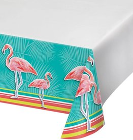 Creative Converting NAPPE DE PLASTIQUE - FLAMANTS ROSES