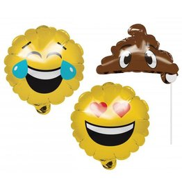 Creative Converting BALLOON PHOTO PROPS - EMOJIONS