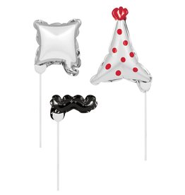 Creative Converting BALLOON PHOTO PROPS - GENERAL BIRTHDAY
