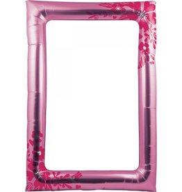 Creative Converting ACCESSOIRES POUR PHOTO EN BALLONS - CADRE ROSE FLEURIT