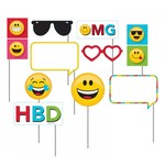 Creative Converting PHOTO PROPS - SHOW YOUR EMOJIONS