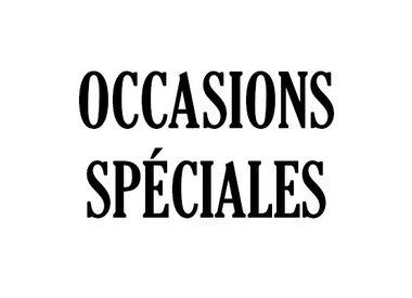 Occasions Spéciales