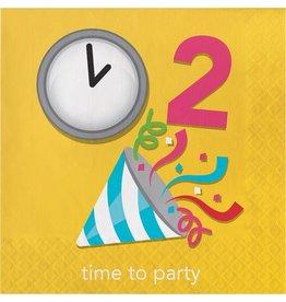 Creative Converting SERVIETTES DE TABLE (16) - ÉMOJI (TIME  TO PARTY)