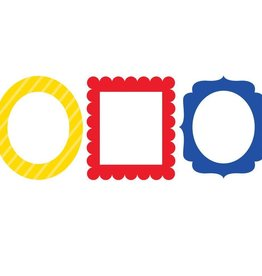 Creative Converting PHOTO FRAMES - PRIMARY COLORS