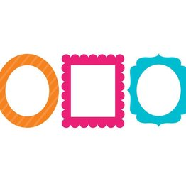 Creative Converting PHOTO FRAMES - TRENDY COLORS