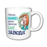 Créations ozze TASSE HOMME SILENCIEUX