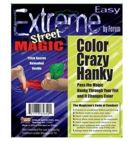 Forum Novelty EXTREME ST.-COLOR CRAZY HANKY