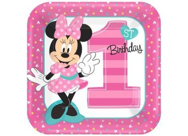 Disney Minnie First BDay