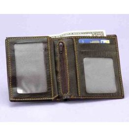 Forum Novelty FLAME WALLET-BROWN
