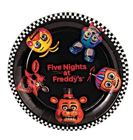 Forum Novelty ASSIETTES 7'' (8) - FIVE NIGHTS AT FREDDY'S