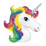 PARTY CLUB OF AMERICA BALLON MYLAR SUPERSHAPE - LICORNE
