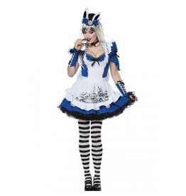California Costumes COSTUME ADULTE - MALICIEUSE ALICE -