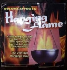 VISUAL EFFECTS FLAME SUSPENDUE