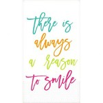 Amscan SERVIETTES D'INVITÉ (16) - REASON TO SMILE