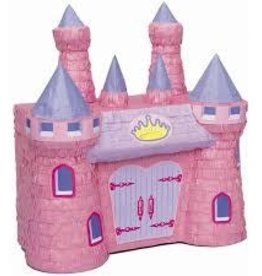 Unique PINK CASTLE PINATA