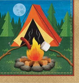 Creative Converting SERVIETTES DE TABLE (16) - CAMPING