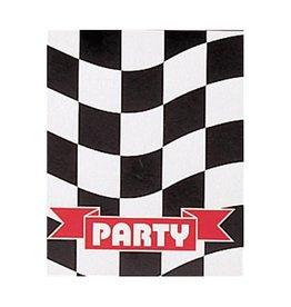 Creative Converting Black & White Check Invitation