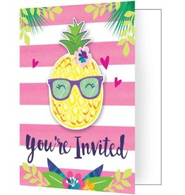 Creative Converting INVITATIONS (8) - ANANAS & AMIS