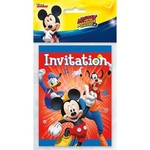 Unique INVITATIONS (8) - MICKEY MOUSE
