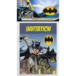 Unique INVITATIONS (8) - BATMAN