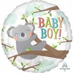 Anagram BALLON MYLAR 18PO - KOALA BABY BOY