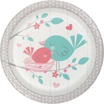 Creative Converting ASSIETTES 7PO (8) - OISILLONS ROSE