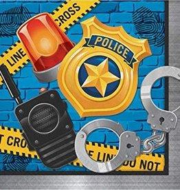 Creative Converting SERVIETTES DE TABLE (16) - POLICE