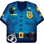 Creative Converting ASSIETTES 9PO (8) - POLICE