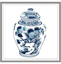 Blue & White Vase 4 - 30.25x30.25