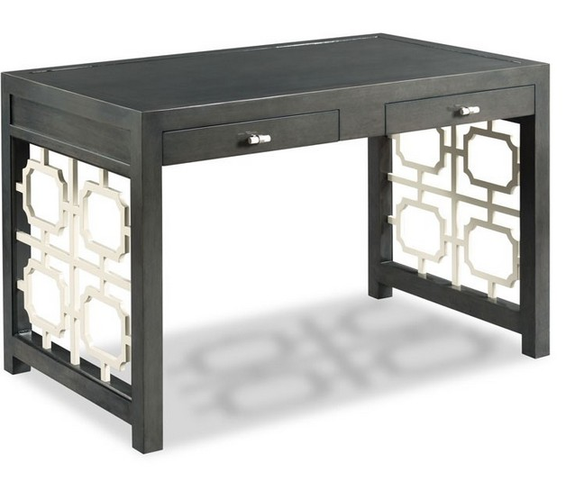 Royere Writing Table Charcoal 48W28D30H