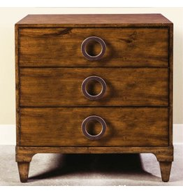 French Walnut Chest 30W17.5D32H