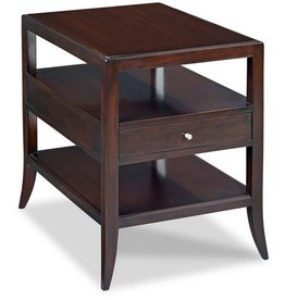Addison Side Table 19.5W27D26H Mahogangy Veneer
