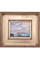 Original Oil by Ivan Beachscape 2